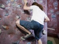 Zajęcia wspinaczkowe Sokoła 2011.05.20, ścianka na ulicy Siennickiej.Prowadzący Rafał Zakrzewski